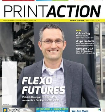 Alpha Poly Packaging Done Right Featured in Print Action Magazine
